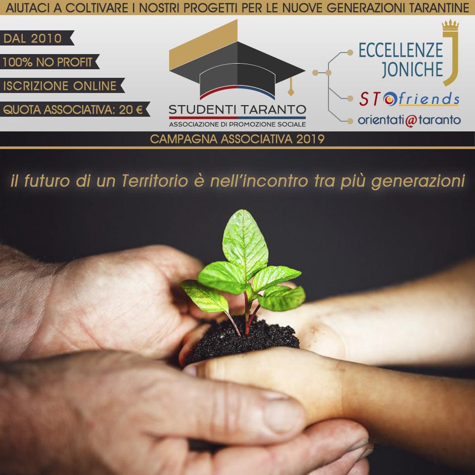 Campagna Associativa Studenti Taranto 2019