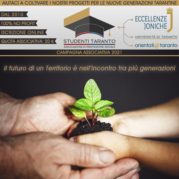 Campagna Associativa Studenti Taranto 2021