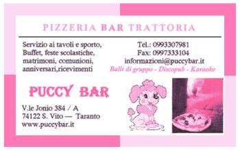 Puccy Bar - Pizzeria Bar Trattoria - San Vito Taranto